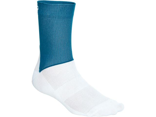 POC Essential Road Socks Herren draconis blue/hydrogen white